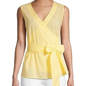 Beachlunchlounge Sleeveless Wrap Top M